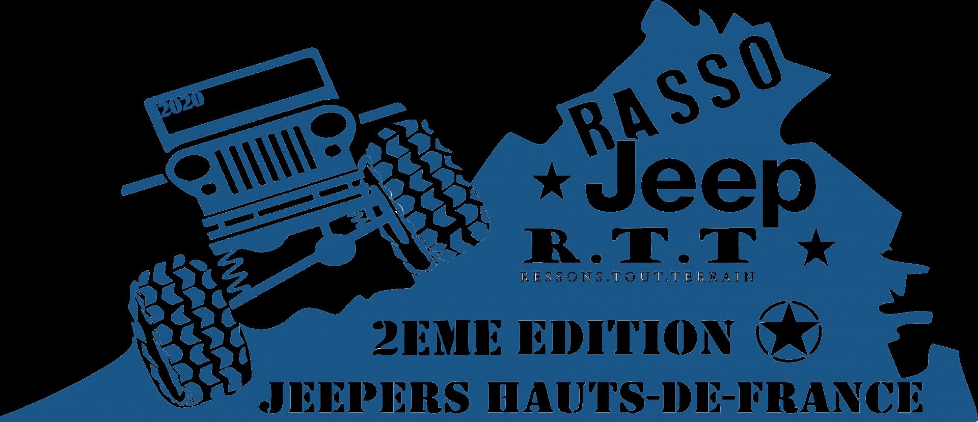 Logo jeep bleu 1